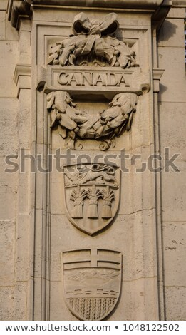Golden Canada Maroto Gate Buckingham Palace London England Stock photo © billperry