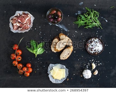 продовольствие Spice ингредиент сэндвич иллюстрация дизайна Сток-фото © vectomart