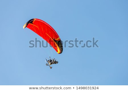 Paraglider with motor stock photo © Hofmeester