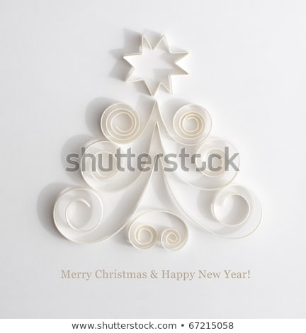 Stock photo: Abstract Christmas card - 2011