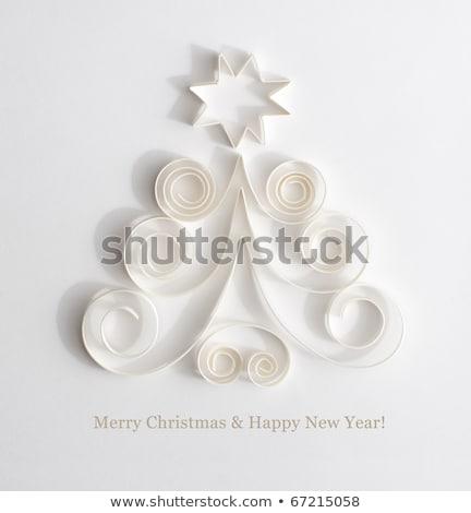 Stock photo: Abstract Christmas card - 2011