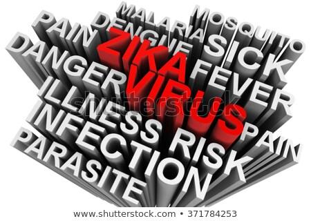 tanı · h1n1 · tıp · 3d · illustration · virüs · tıbbi - stok fotoğraf © tashatuvango