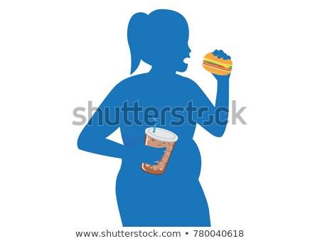 若い女性 飲料 ソーダ 女性 ストックフォト © RAStudio