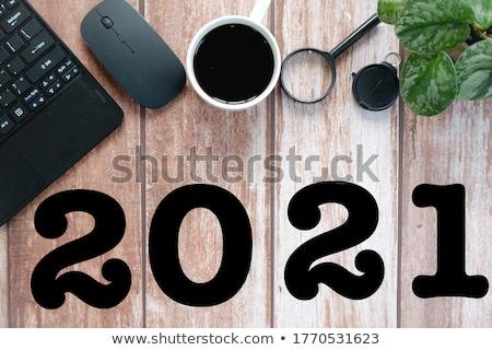 vágólap · információ · 3D · üzlet · számológép · szemüveg - stock fotó © tashatuvango