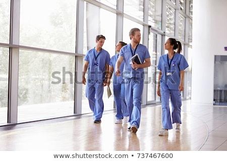 doktor · danışman · grafik · adam · sağlık · hastane - stok fotoğraf © is2
