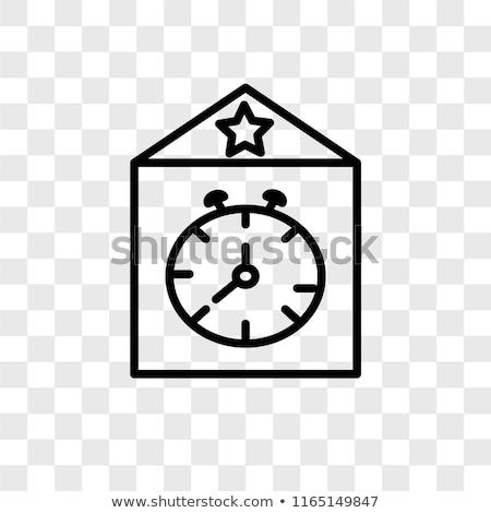 Clock UK Flag Transparent Stock photo © limbi007