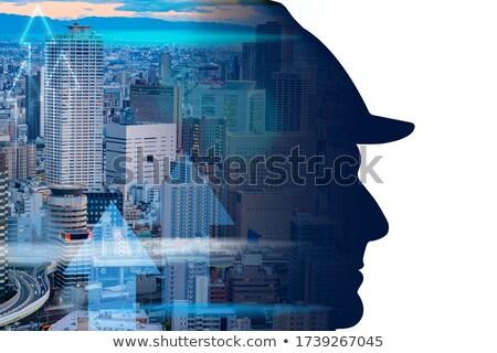 abstract · wolkenkrabbers · onroerend · 10 · gebouw · stad - stockfoto © designer_things