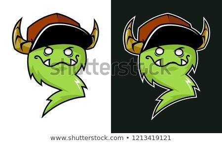 Ugly Devil Talking Stock photo © cthoman