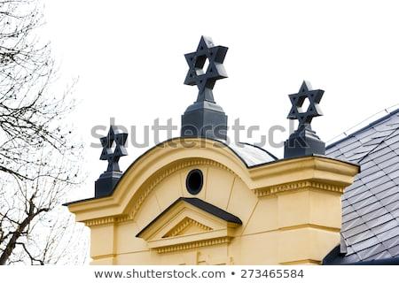 Synagoge Tsjechische Republiek gebouw reizen architectuur huizen Stockfoto © phbcz