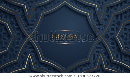 dark background in papercut style Stock photo © SArts