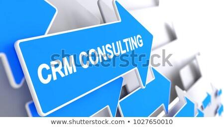 Business Integration - Inscription on Blue Cursor. 3D. Stock photo © tashatuvango