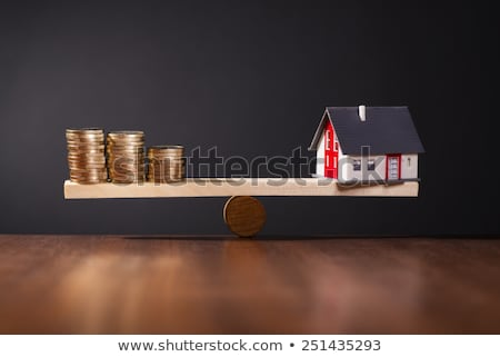 Equity capital for house financing. Stock photo © limbi007