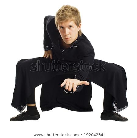 молодым человеком изображение черный маг фильма модель Сток-фото © Stasia04