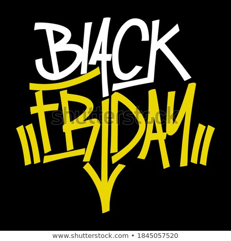 black friday sale best offer save money set stock photo © robuart
