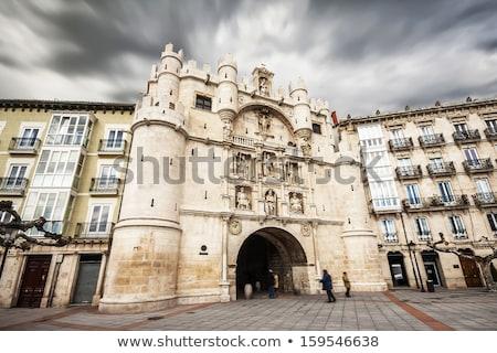 Arco de Santa Maria in Burgos Stock photo © benkrut