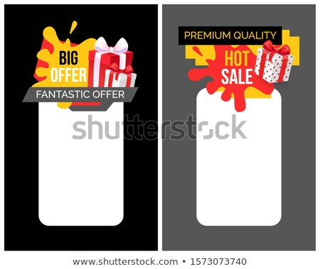 Highest Quality of Products, Super Sale Discount Stock photo © robuart
