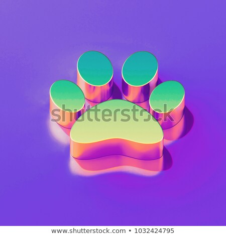 pet food bowl for man 3d stock photo © djmilic