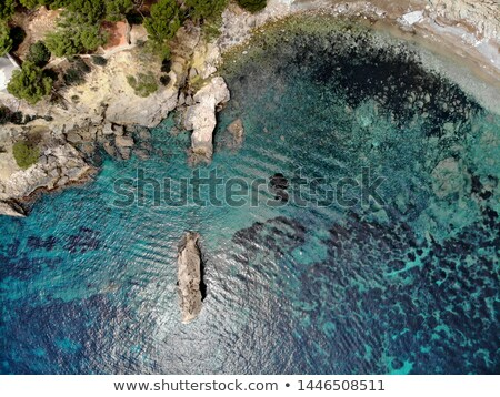 Cala en Cranc rocky seaside in the Palma de Majorca directly fro Stock photo © amok