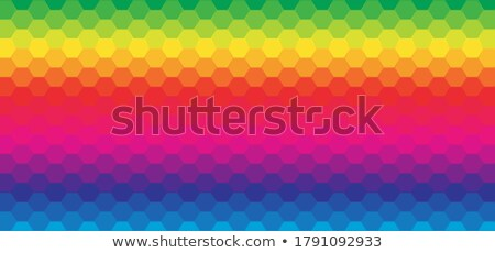 badge patterned with a transgender pride flag Stock photo © nito