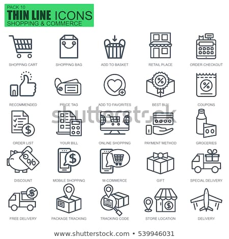 packing product icon design style stock photo © robuart
