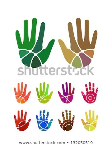Orman renk logo şablon yaban hayatı Stok fotoğraf © barsrsind