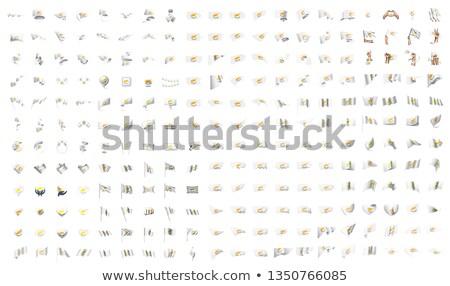 большой коллекция вектора флагами Кипр дизайна Сток-фото © butenkow