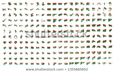 very big collection of vector flags of the Vanuatu Stock photo © butenkow
