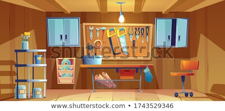 Cartoon Carpenter Woodworking Stock photo © Voysla