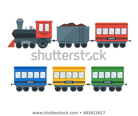Train wagons Stock photo © IvicaNS