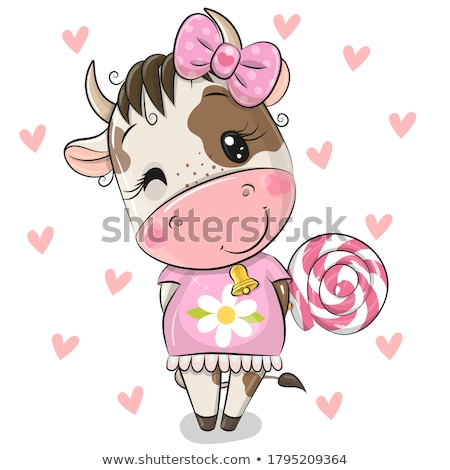 Cute Cartoon Animals Vector Stock photo © indiwarm