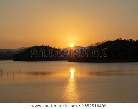 tan · krabi · Tayland · su · gün · batımı · ışık - stok fotoğraf © pinkblue