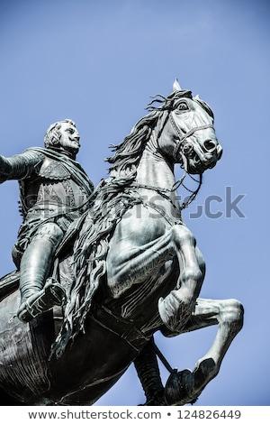лошади испанский царя третий Мадрид Испания Сток-фото © vaximilian