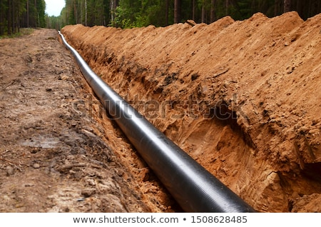 pipeline in nature Stock photo © smithore