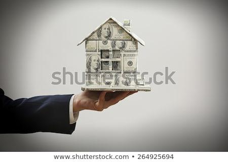 ユーロ · 家 · お金 · ホーム · 金融 - ストックフォト © photography33