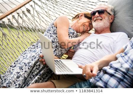 çift birlikte sahil adam seksi Stok fotoğraf © photography33