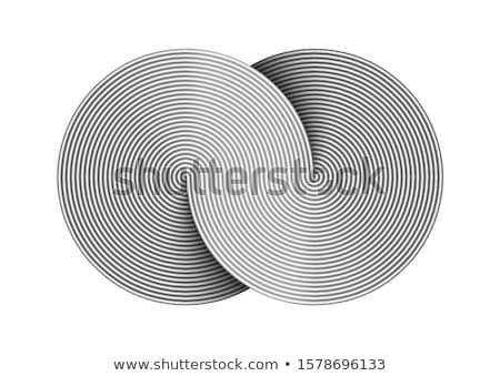 niebieski · odizolowany · biały · streszczenie · świetle - zdjęcia stock © samsem