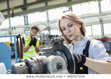 Manuel travailleur apprenti industrie Homme génie Photo stock © photography33