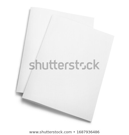 postcard isolated on white background Stock photo © shutswis