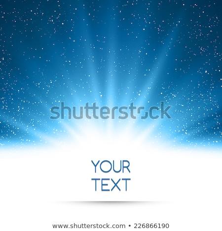 Absztrakt színes csillag buli festék hó Stock fotó © rioillustrator