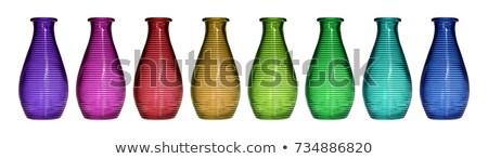 lege · transparant · glas · fles · partij · bar - stockfoto © shutswis