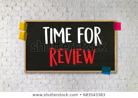 Time for Review Stock photo © ivelin