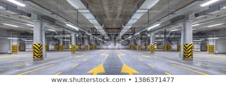 Beton park garaj yapı üç Stok fotoğraf © searagen
