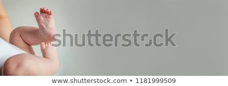 Madre minuscolo piedi baby Foto d'archivio © Andersonrise