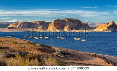 Rock Butte Formation Lake Powell Colorado River Utah United Stat Stock photo © cboswell