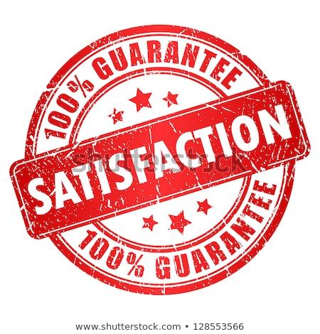 Satisfaction Guarantee Stamp Stock photo © burakowski
