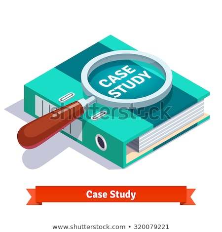 Sociology - Magnifying Glass Concept. Stock photo © tashatuvango