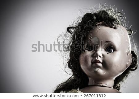 head of damaged puppet Stock photo © meinzahn