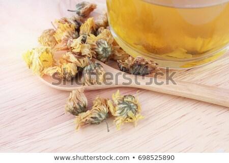Duftenden Blume Tee heißen frischen Essen Stock foto © OleksandrO