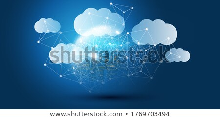 Public Cloud Concept on Digital Background. Stock photo © tashatuvango