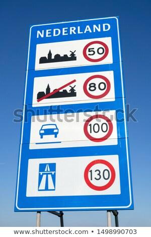 впереди · предупреждение · дорожный · знак · детей · символ - Сток-фото © frameangel